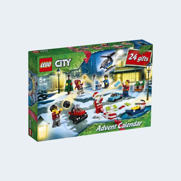 Boîte Calendrier Avent Jeu Construction Lego