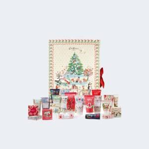 Cadeaux Calendrier de l'avent Cath Kidston Christmas 2021