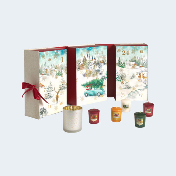 Calendrier Avent 2020 Yankee Candle Bougies