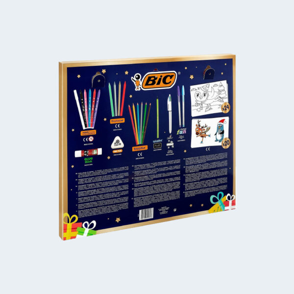 Calendrier Avent Bic Fournitures