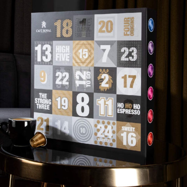 Calendrier Avent Cafe Royal Cafeine