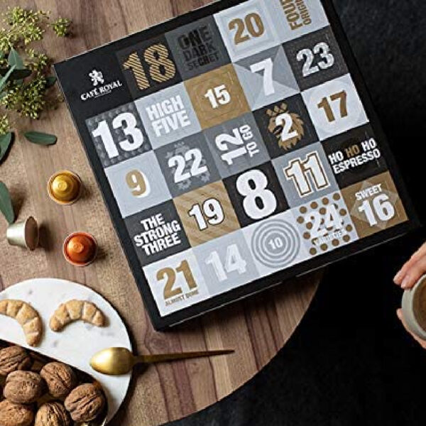Calendrier Avent Cafe Royal Cases