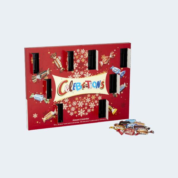Calendrier Avent Celebrations 2020 Chocolats
