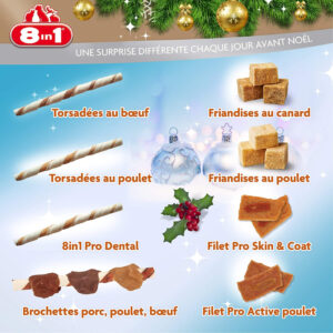 Calendrier Avent Chiens Friandises