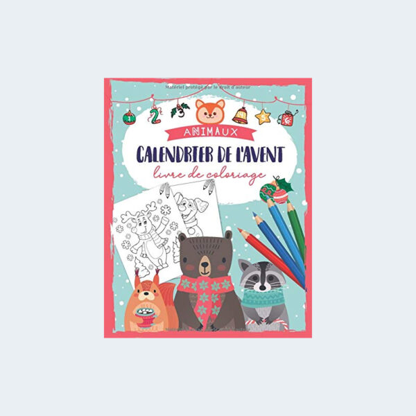 Calendrier Avent Coloriage Animaux