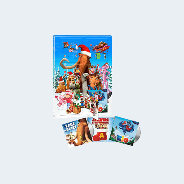Calendrier Avent Films DVD Enfants