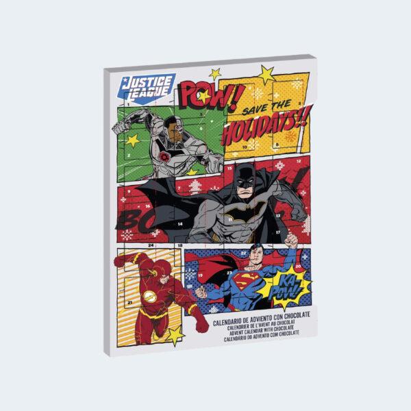 Calendrier Avent Justice League