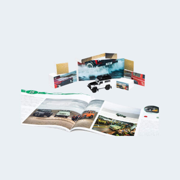 Calendrier Avent Land Rover