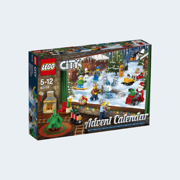 Calendrier Avent Lego City Construction