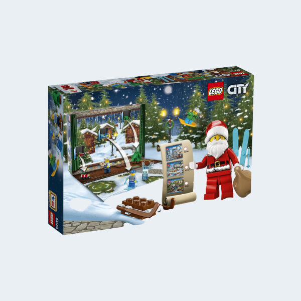 Calendrier Avent Lego City Construction 60155