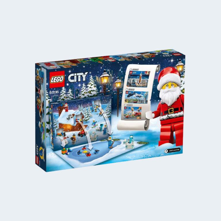 Calendrier Avent Lego Jeu de Construction 60235
