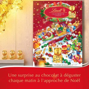 Calendrier Avent Lindt Ourson
