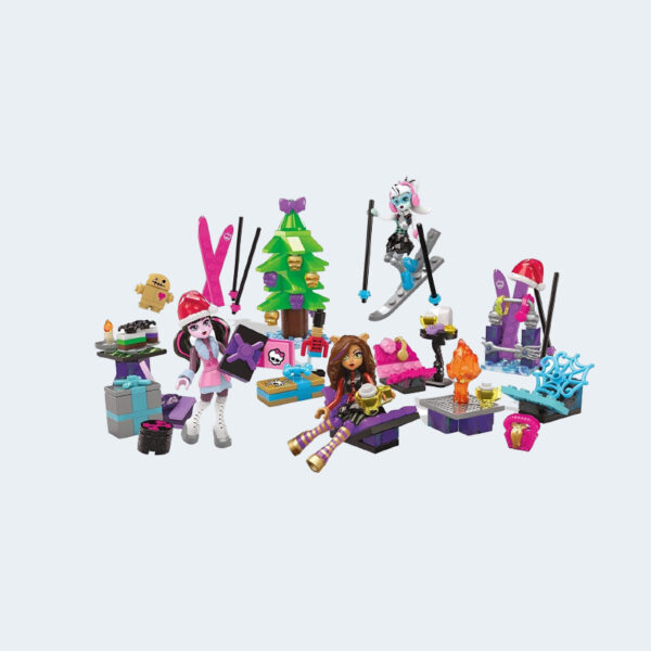 Calendrier Avent Monster High Noel