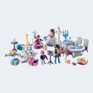 Calendrier Avent Personnages Playmobil Bal Salon Cristal