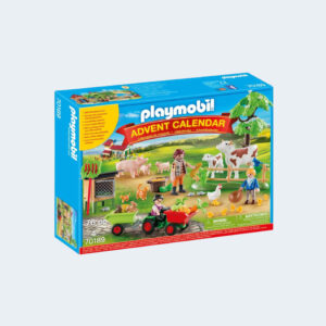 Calendrier Avent Playmobil Animaux Ferme 70189