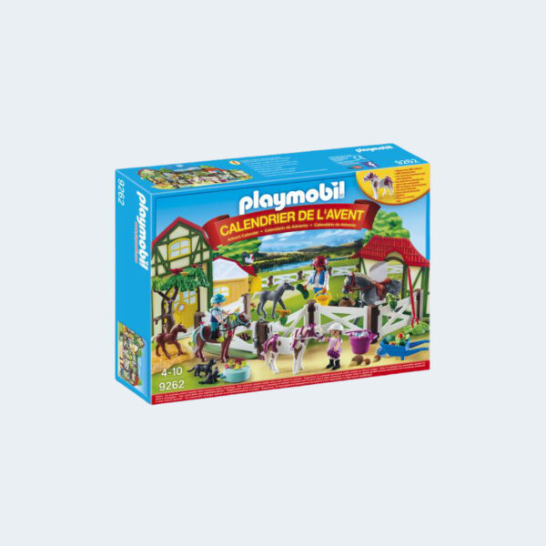 Calendrier Avent Playmobil Chevaux