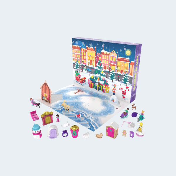 Calendrier Avent Polly Pocket Magie Noel