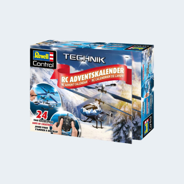 Calendrier Avent RC Heli Revell Control