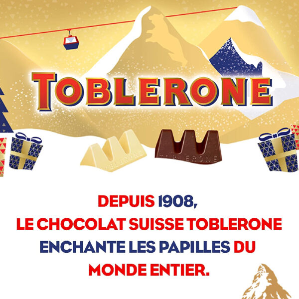 Calendrier Avent Toblerone Chocolat