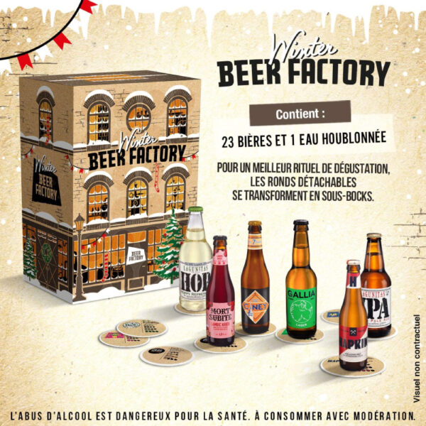 Calendrier Avent Winter Beer Factory Biere