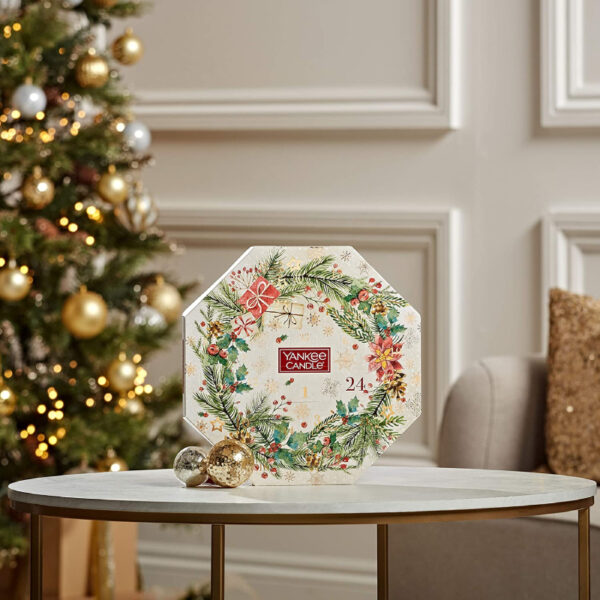 Calendrier Avent Yankee Candle Couronne