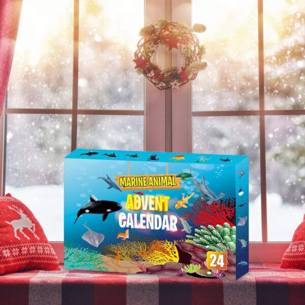 Calendrier Avent animaux marins