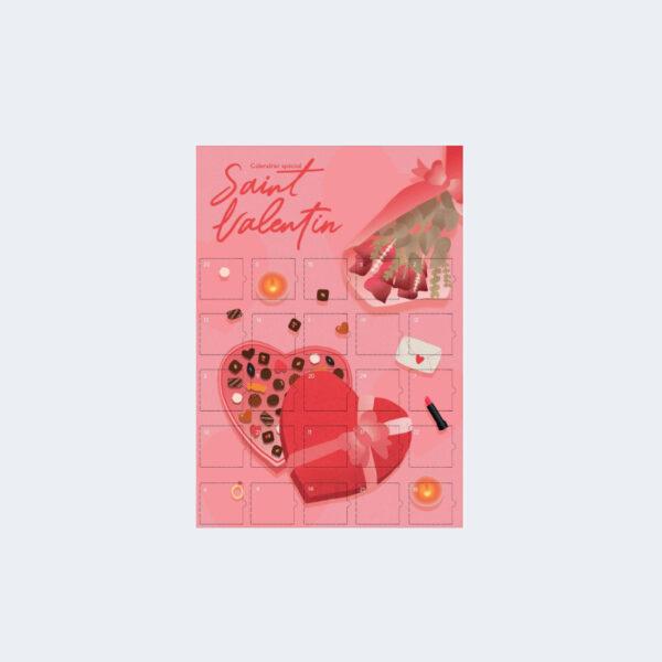 Calendrier Defis Saint Valentin