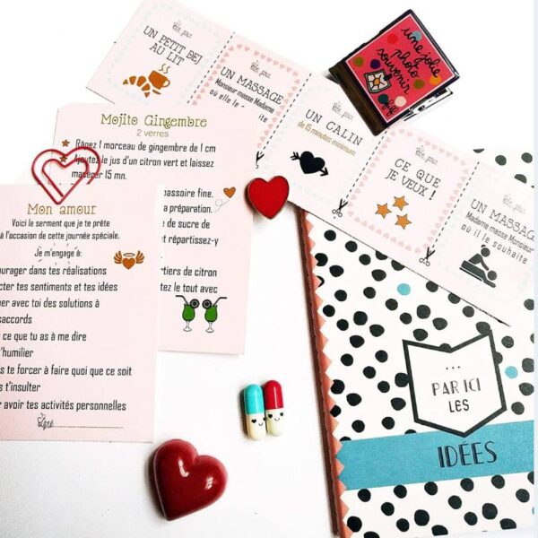 Calendrier Evenement Coffret Cadeaux Rigolo Couples