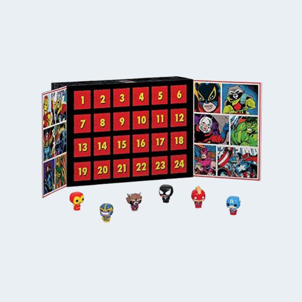 Calendrier Marvel Funko Pop Figurines
