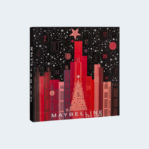 Calendrier Maybelline 2019 Maquillage