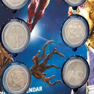 Calendrier Pieces Avengers Infinity Wars