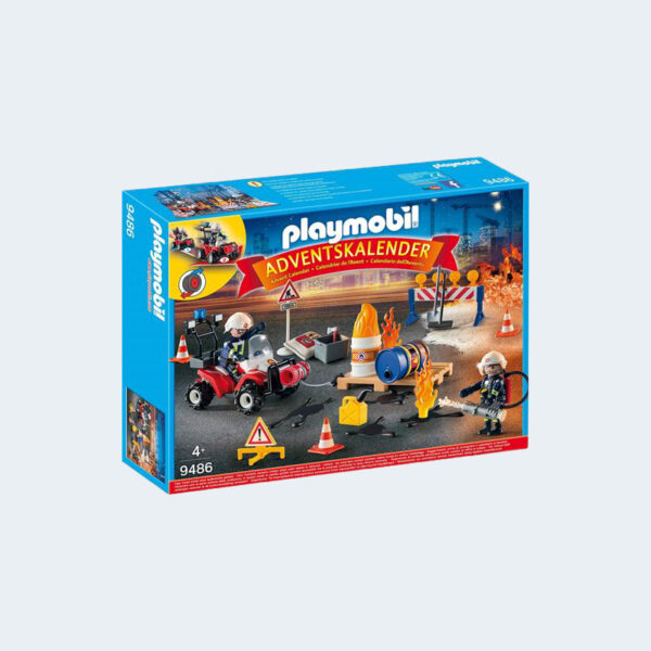 Calendrier Playmobil Pompiers