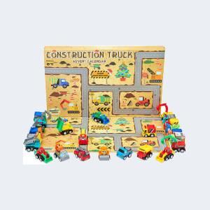 Calendrier de L'avent Enfant Voiture de construction