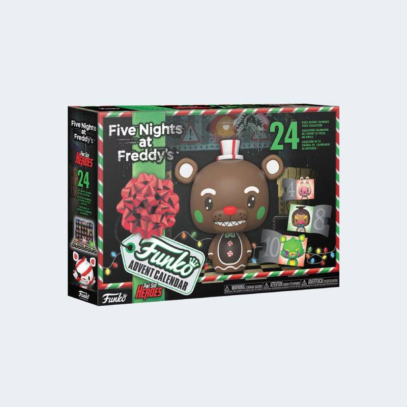 Calendrier de l'Avent Five Nights at Freddy's 2021 Funko Pop