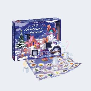 Calendrier de l'Avent Les 24 senteurs de Noël