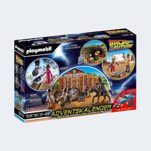 Calendrier de l'Avent Playmobil Back to the Future Part III (70576)