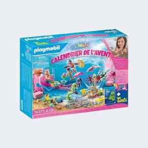 Calendrier de l'Avent Playmobil Jeu de bain Le monde des sirènes (70777)