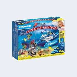 Calendrier de l'Avent Playmobil Jeu de bain Policiers (70776)