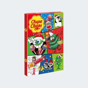 Calendrier de l'Avent pour Noël 2021 Chupa Chups