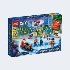 Calendrier de l'avent Lego City 2021