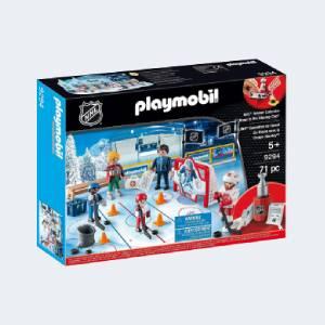 Calendrier de l'avent Playmobil NHL