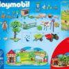Décor Calendrier Avent Playmobil Animaux Ferme 70189