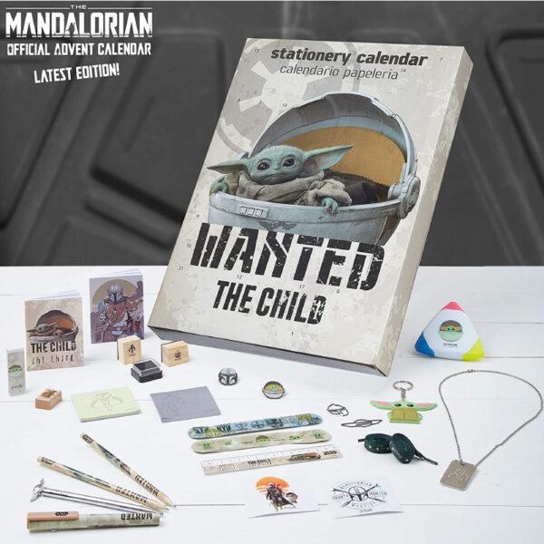 Disney Calendrier Avent Mandalorian Wanted