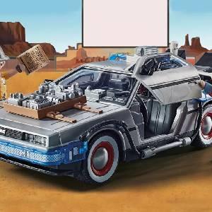 Dolorean Calendrier de l'Avent Playmobil Back to the Future Part III (70576)