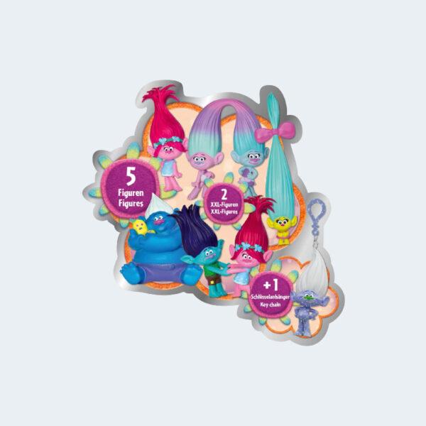 Dreamworks Calendrier Avent Trolls Figurines