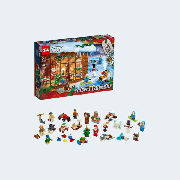Figurines Calendrier Avent Lego Jeu de Construction 60235