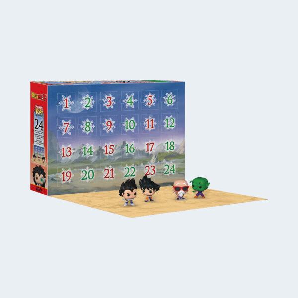 Funko POP Advent Calendar Dragon Ball Z Ouvert