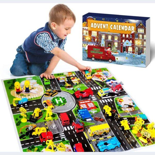 Izoel Calendrier Camion Pompier Vehicules