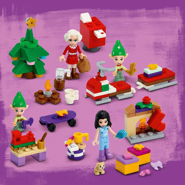 Lego Friends calendrier Avent Ateliers