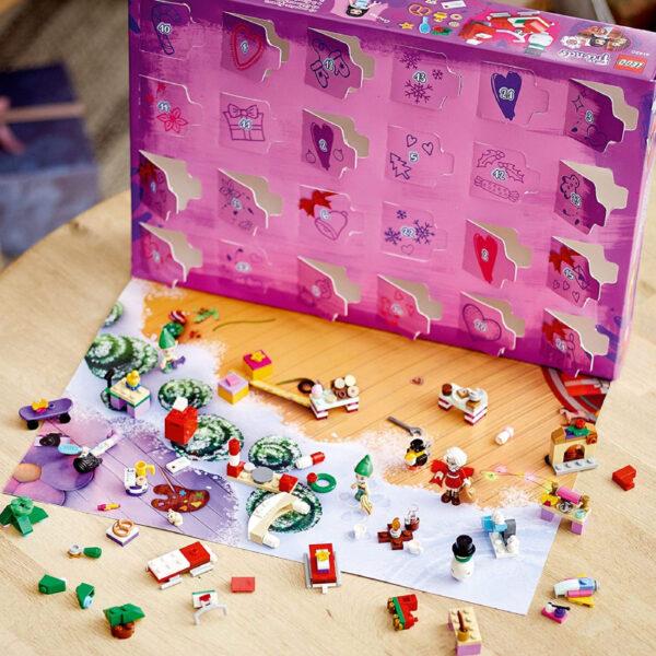 Lego Friends calendrier Avent noël
